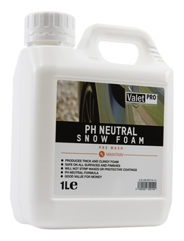 pH Neutral Snow Foam