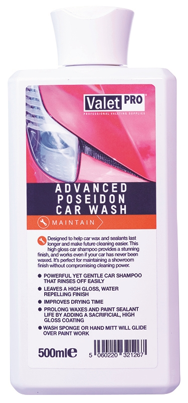 Advanced Poseidon Car Wash 500ml