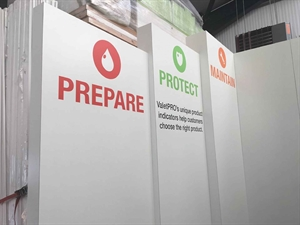 Our Automechanika stand is nearly ready...