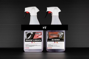 Bilberry Wheel Cleaner VS Dragons Breath