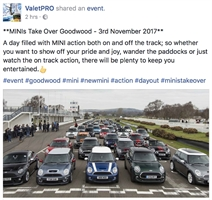 MINIs Take Over Goodwood Nov 3rd