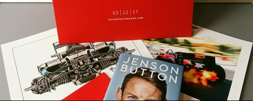 Win Jenson Buttons autobiography and Autosport Memorabilia