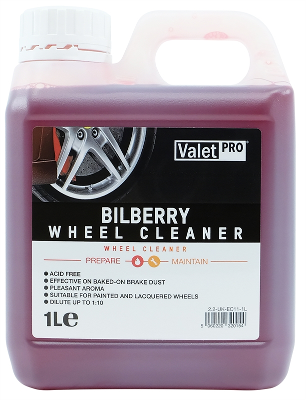 Bilberry Wheel Cleaner 1L front label