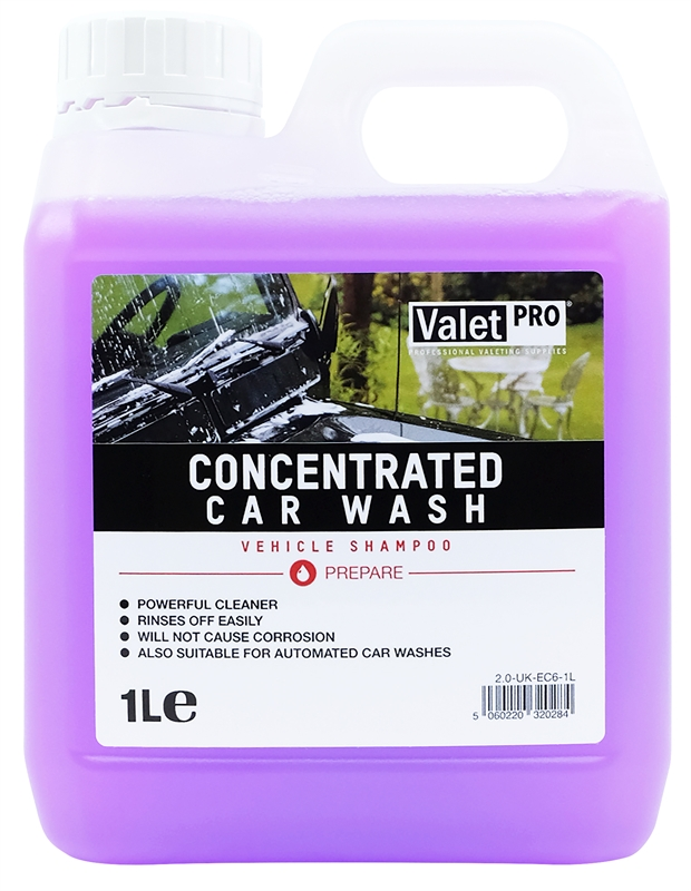 Concentrated Car Wash 1L front label