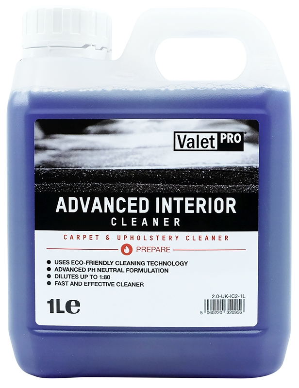 Advanced Interior Cleaner 1L front label