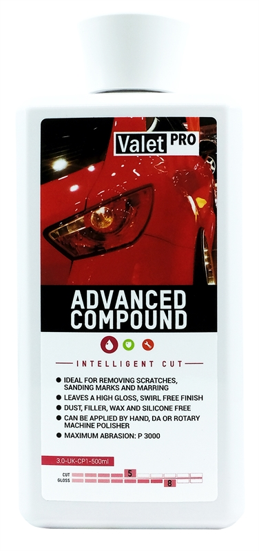 Advanced Compound 500ml front label