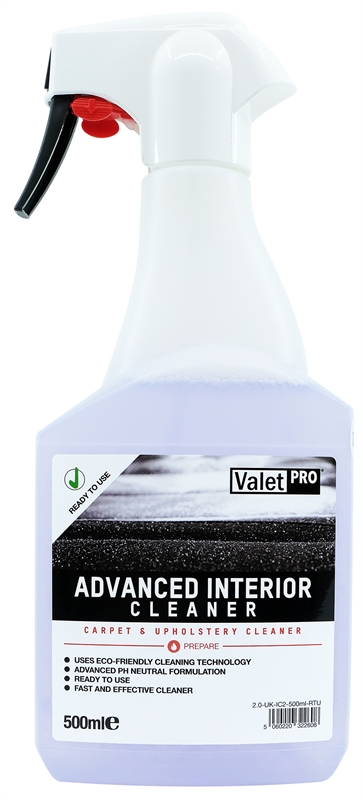 Advanced Interior Cleaner 500ml front label
