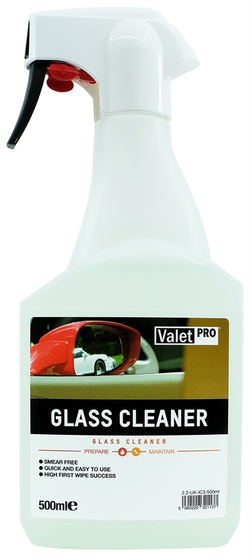 Glass Cleaner 500ml front label