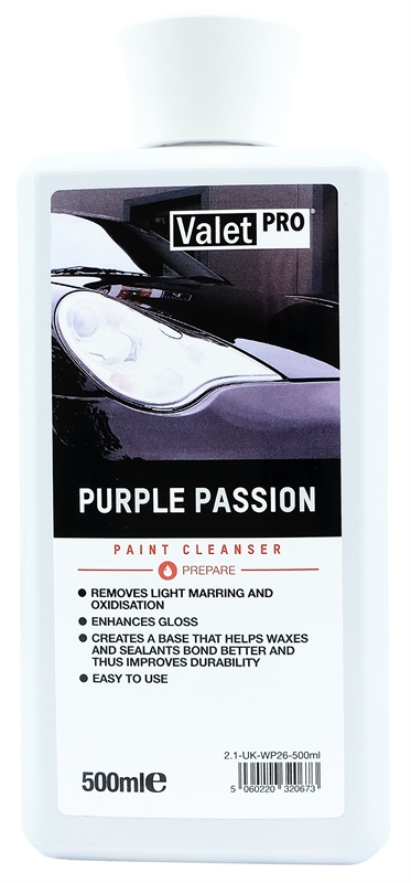 Purple Passion 500ml front label