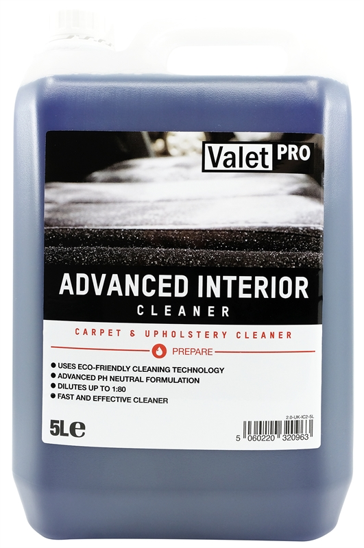 Advanced Interior Cleaner 5L front label