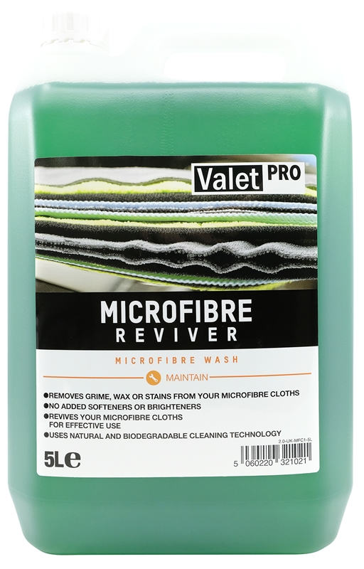 Microfibre Reviver 5L front label