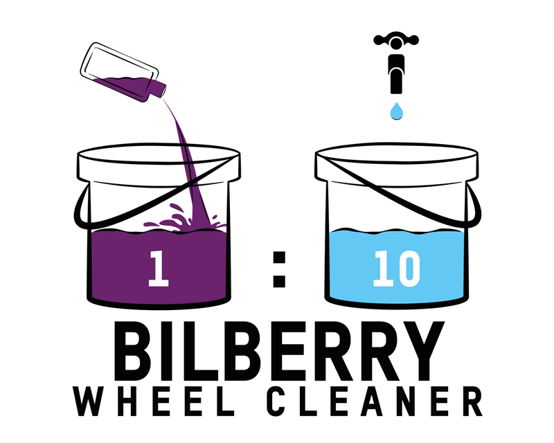 Bilberry Wheel Cleaner Dilution Ratio