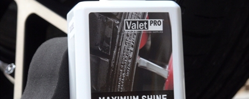 New Release - Maximum Shine Tyre Gel