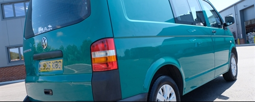 VW Transporter 5, Colour Enhancement Detail
